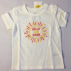 NWT 3T Toddler Life Is Good T-shirt